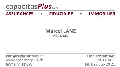 Adresse de Marcel Lanz